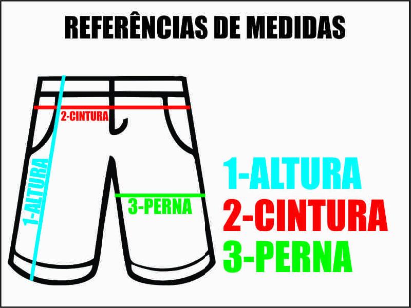 Referência de Medidas do produto