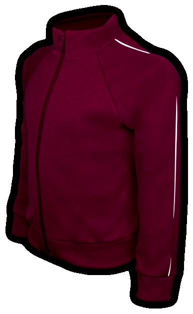 perfil blusa helanca vinho tamanho infantil