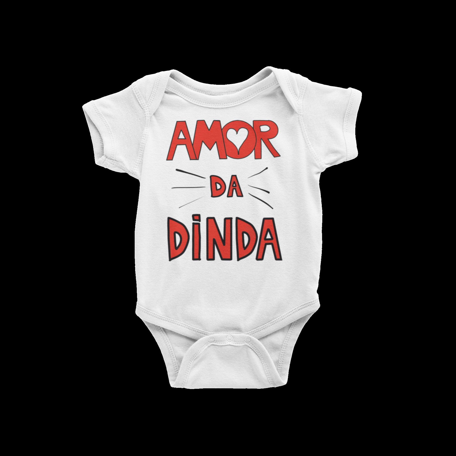 Body Bebê Infantil Amor da Dinda Capa