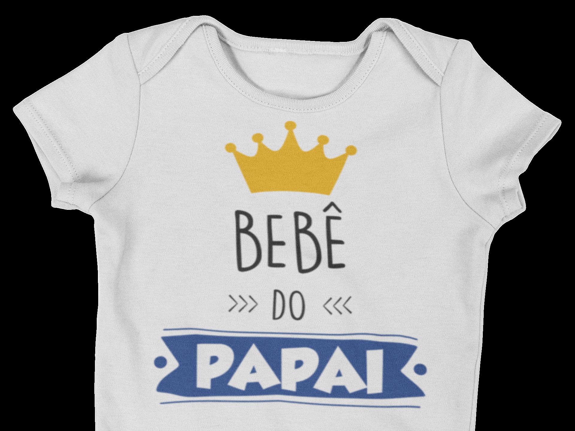 Body Bebê Infantil Bebê do Papai Caoa