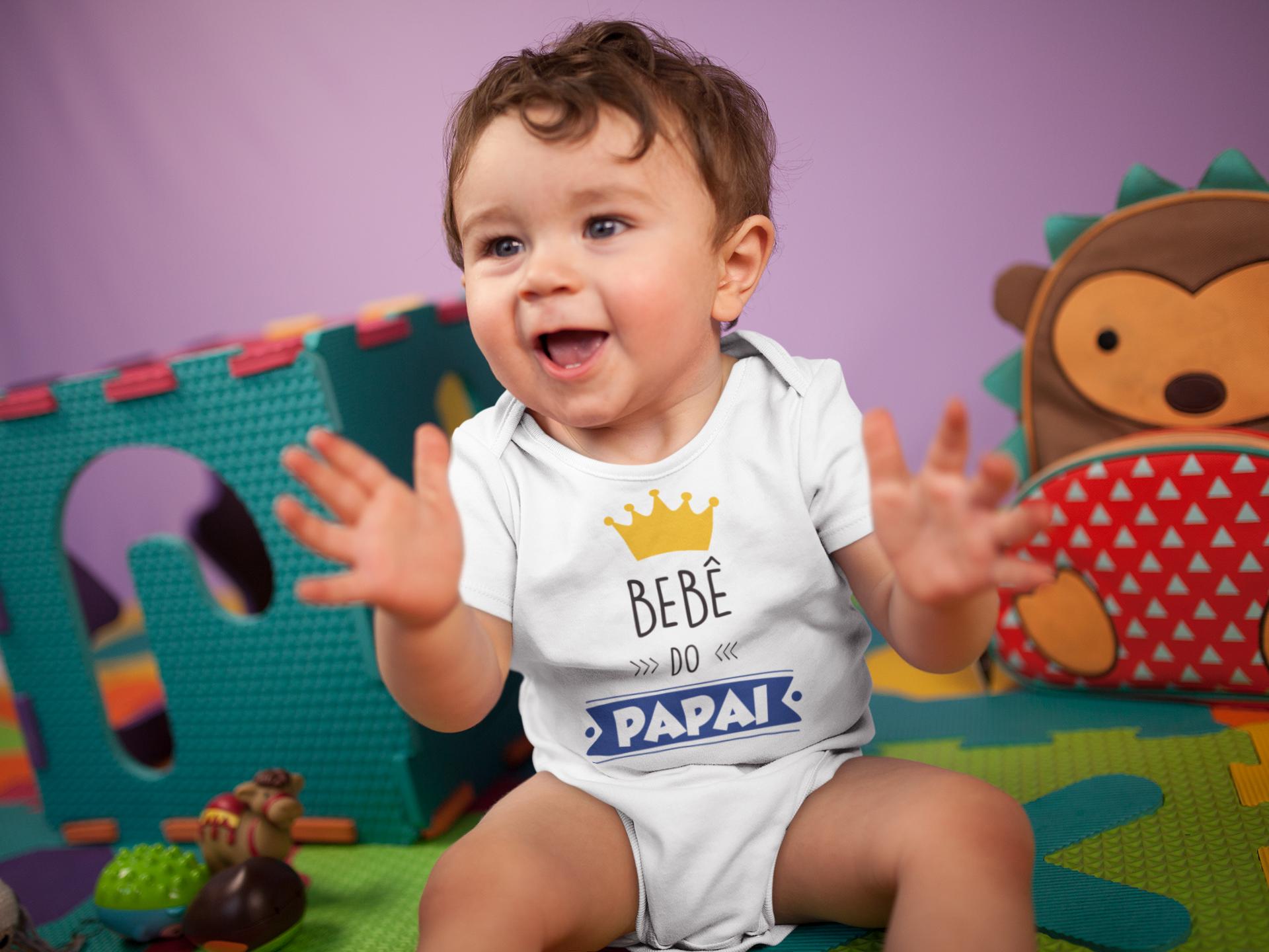 Body Bebê Infantil Bebê do Papai 1