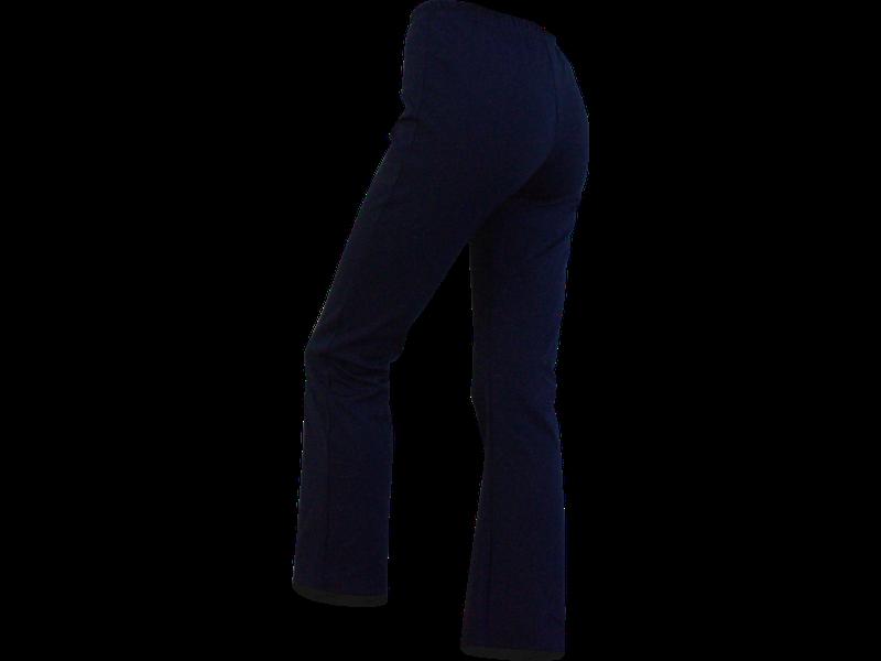 Calça bailarina azul marinho trás
