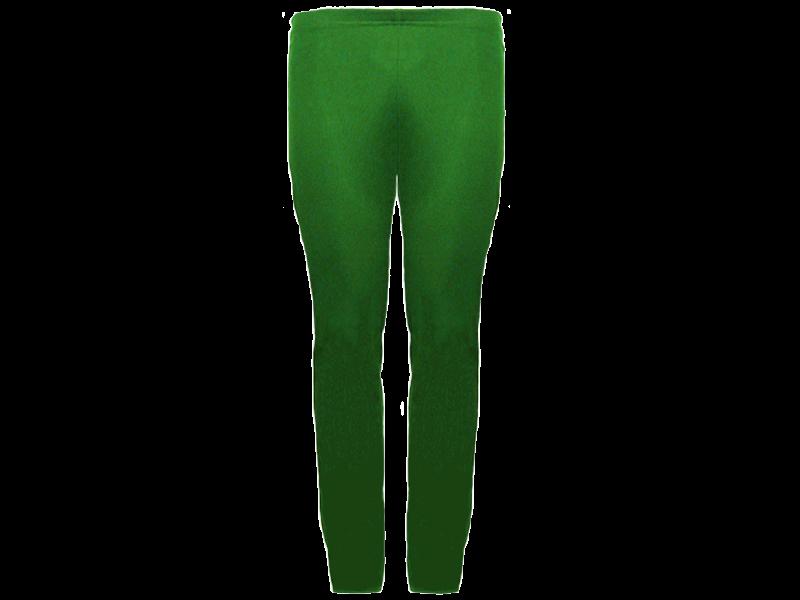 Calça Bailarina Verde Bandeira - Frente