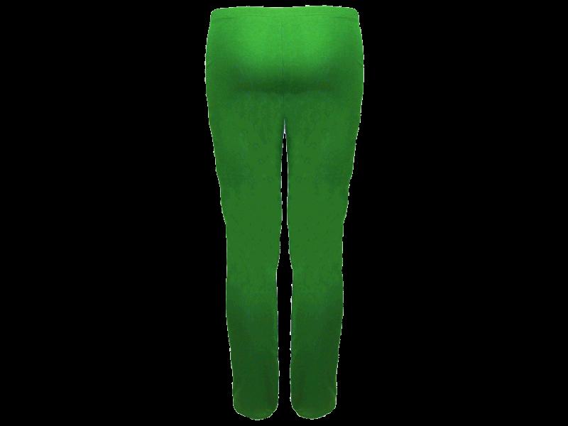 Calça Bailarina Verde Bandeira - Costas