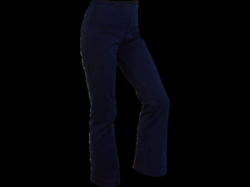 Calça bailarina azul marinho perfil