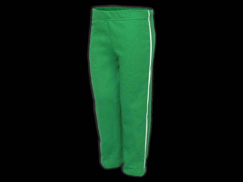Foto de perfil calça de moletom verde bandeira tamanho infantil