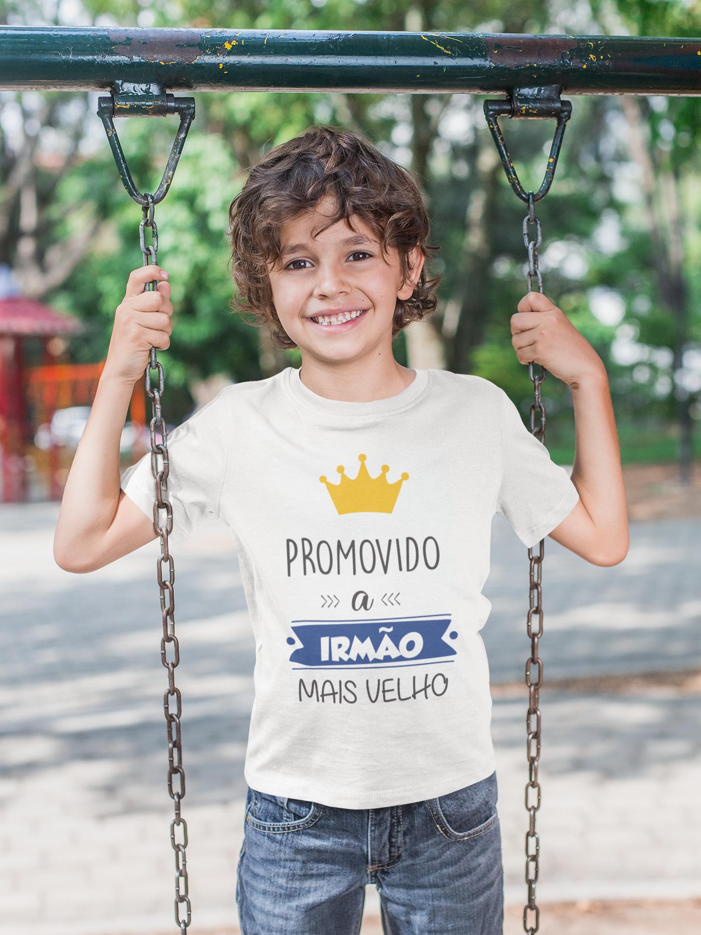 Camiseta Promovido a irmão mais velho 1