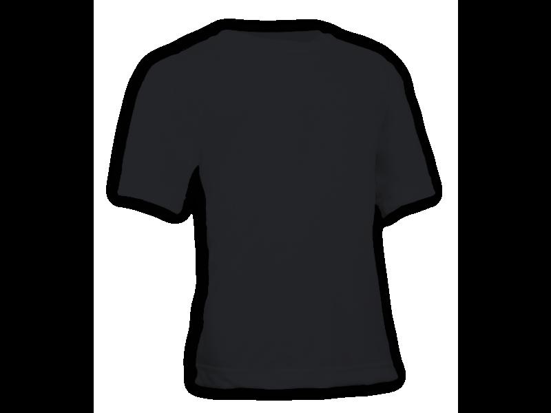 Camiseta Lisa Algodão Colorida Infantil