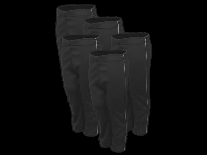 Kit 5 calça preta