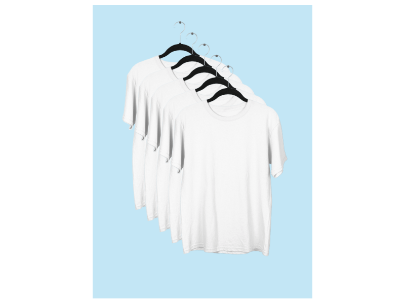 5 camisetas