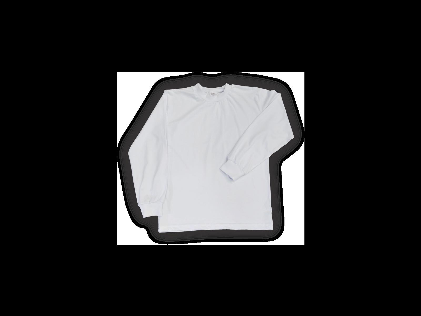 Kit 5 Camisetas Lisa Manga Longa Infantil Poliéster