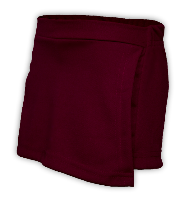 Short saia vinho perfil