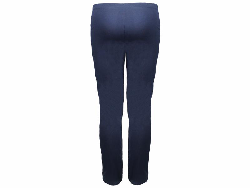 Calça bailarina azul marinho - trás
