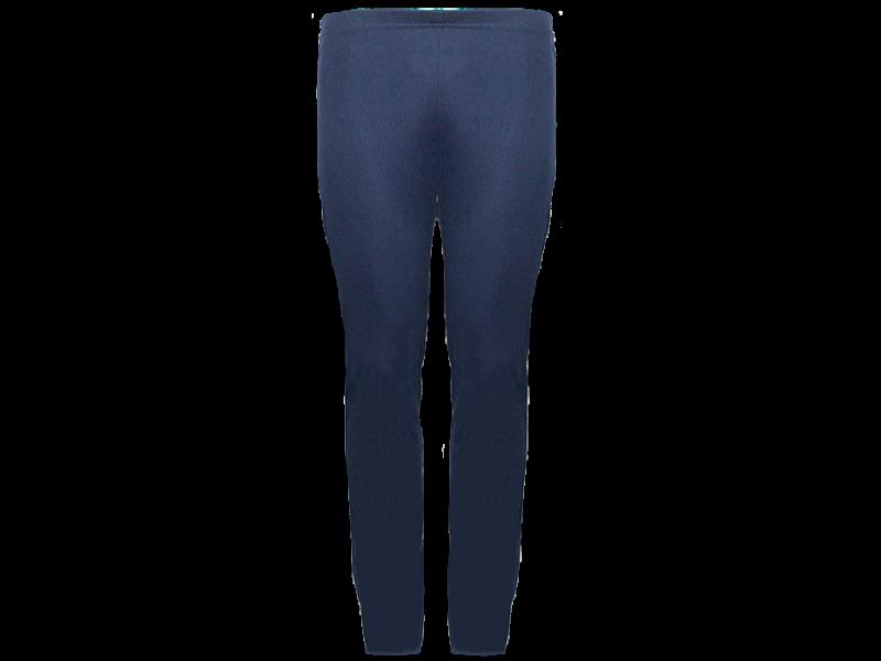 Calça bailarina azul marinho - frente
