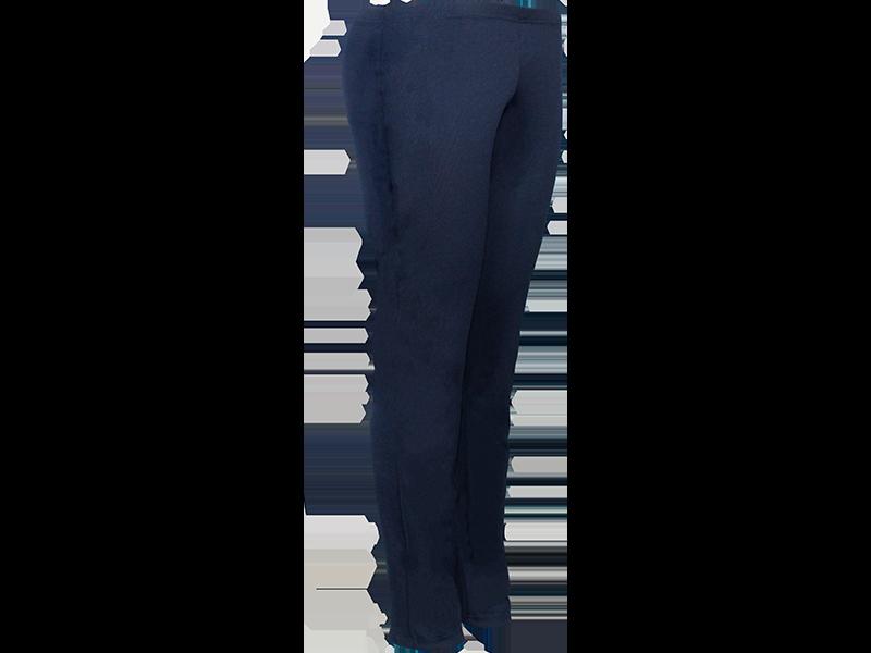 Calça bailarina azul marinho - perfil