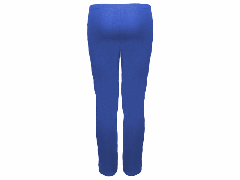 Calça bailarina azul royal - trás