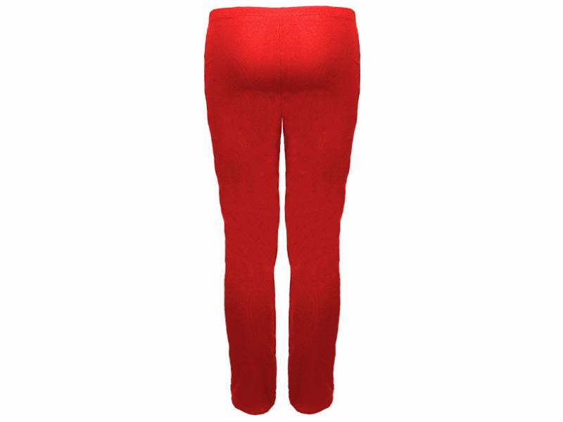 Calça bailarina vermelha - trás