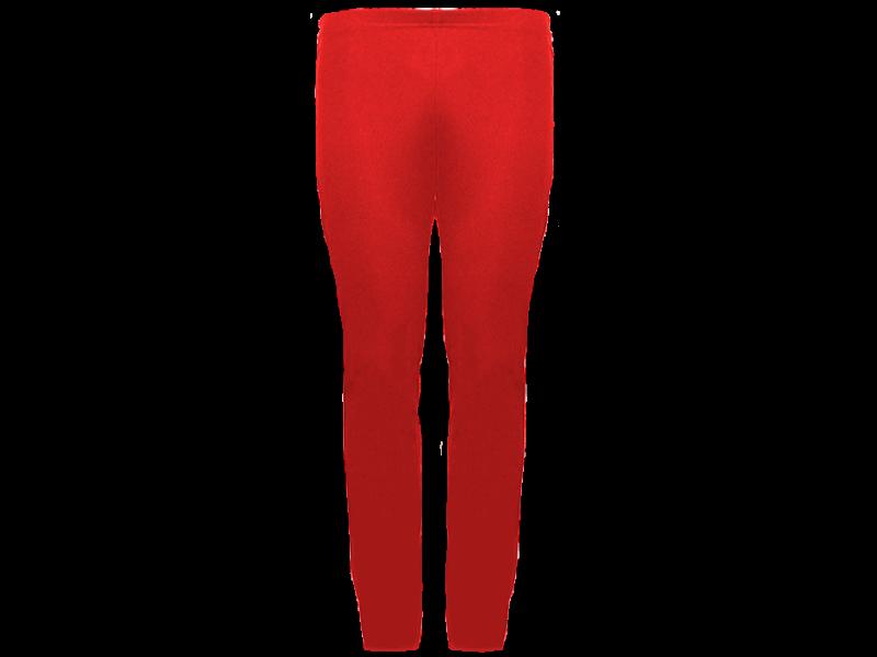 Calça bailarina vermelha - frente