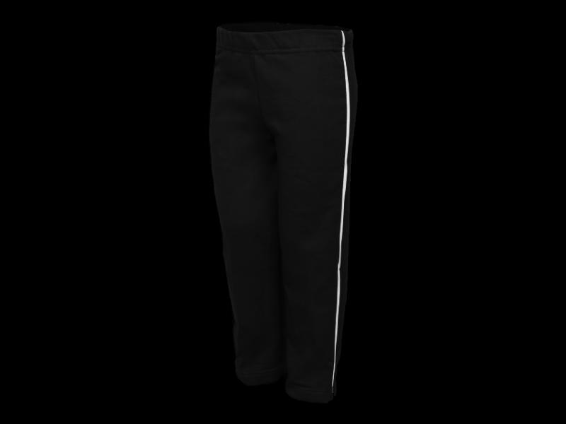 Foto de perfil calça de moletom preta tamanho infantil