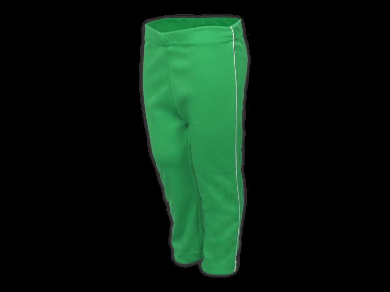 Calça Helanca verde bandeira perfil