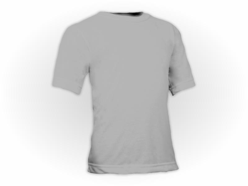 Camiseta prata perfil