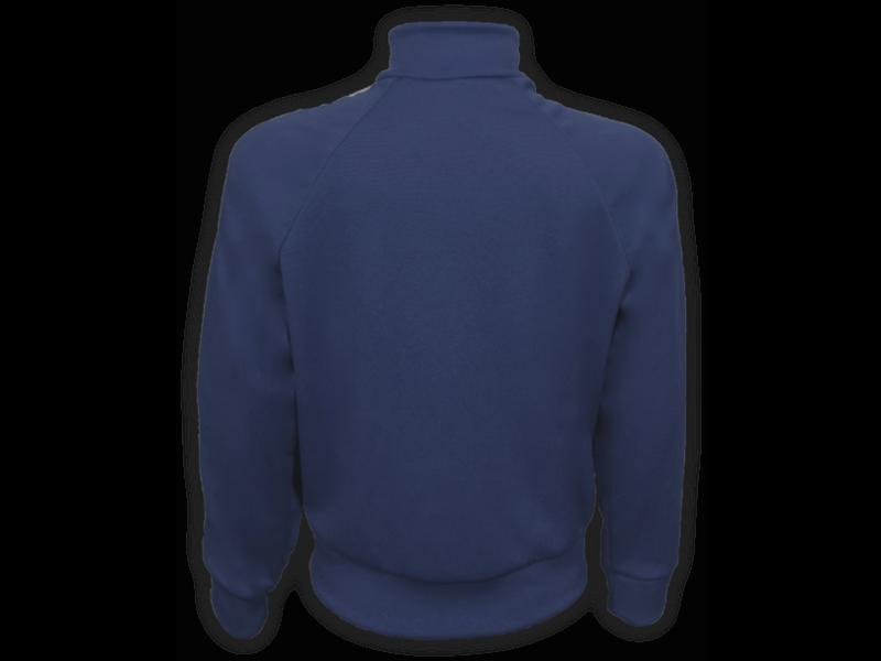 costas blusa helanca azul marinho tamanho infantil