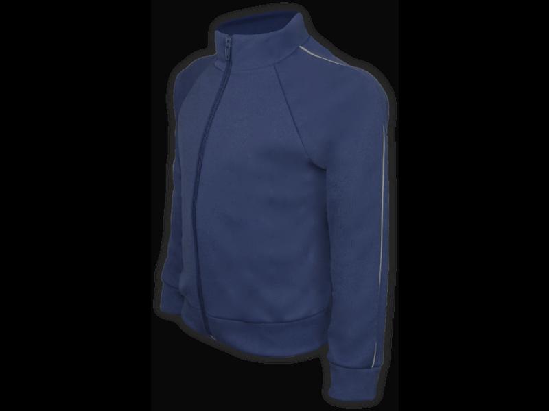 perfil blusa helanca azul marinho tamanho infantil