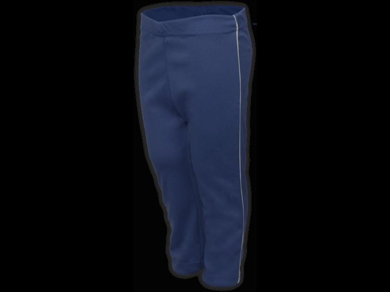 Calça Helanca azul marinho perfil