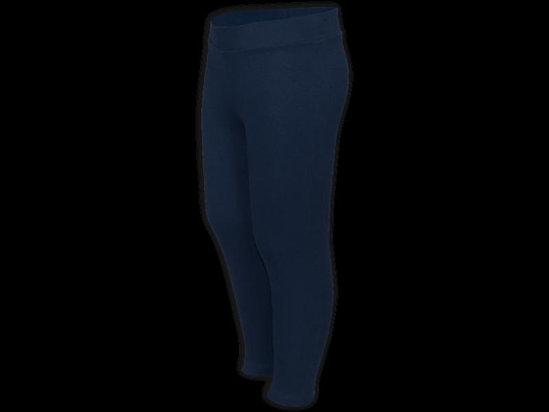 Calça legging azul marinho - perfil