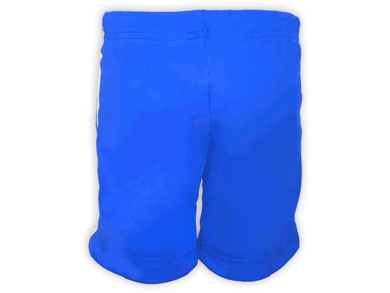 Bermuda Helanca azul royal trás