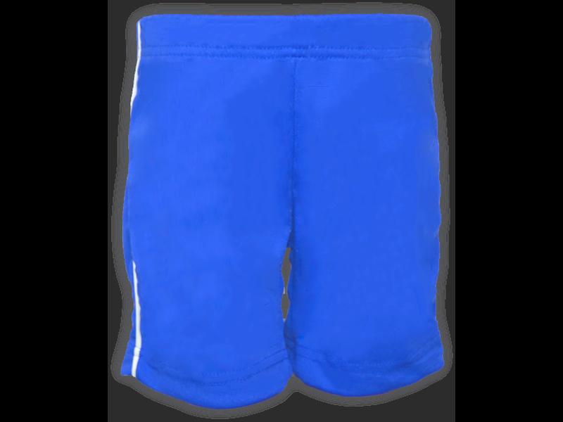 Bermuda Helanca azul royal frente