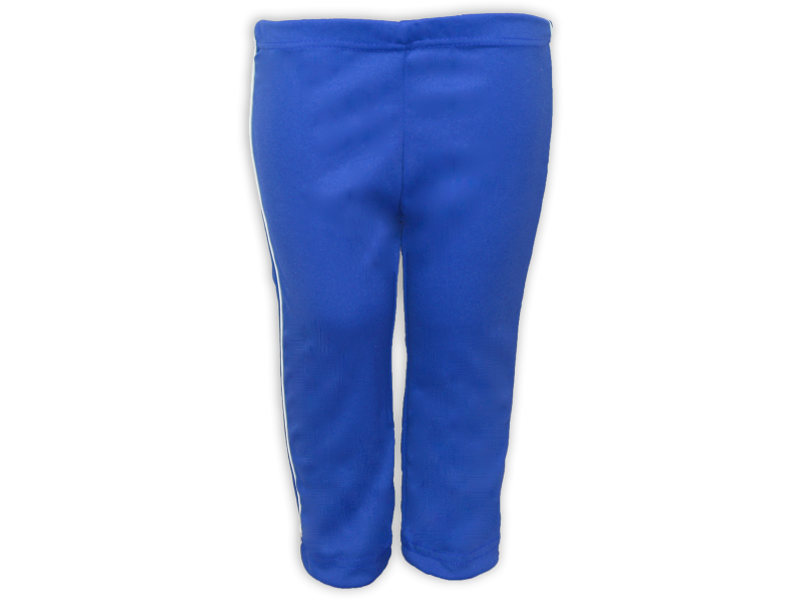 Calça Helanca azul royal frente