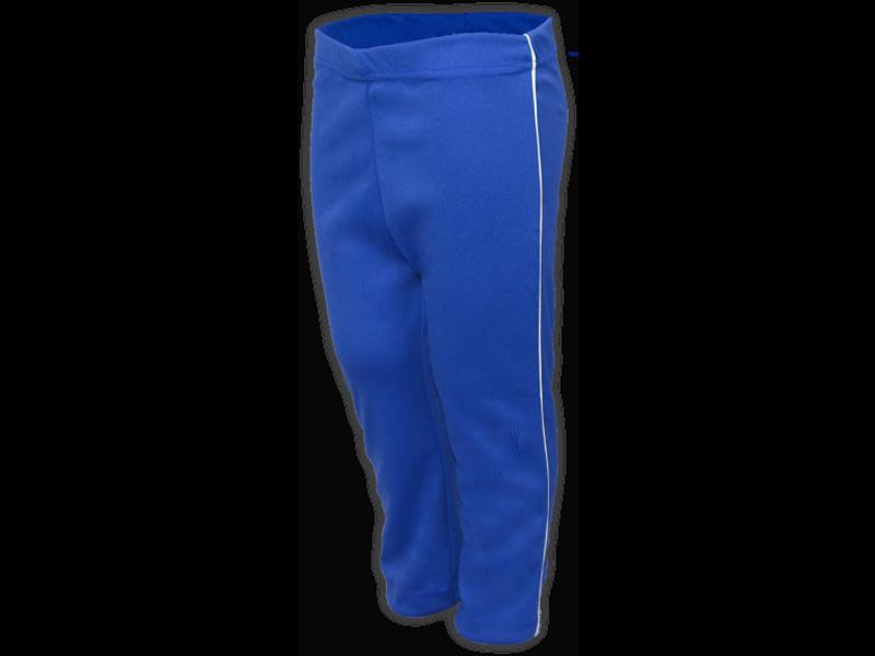 Calça Helanca azul royal perfil