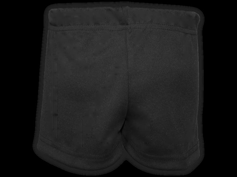 Short saia preto trás