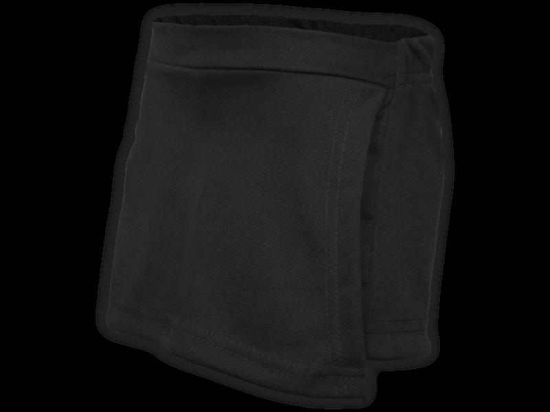 Short saia preto perfil