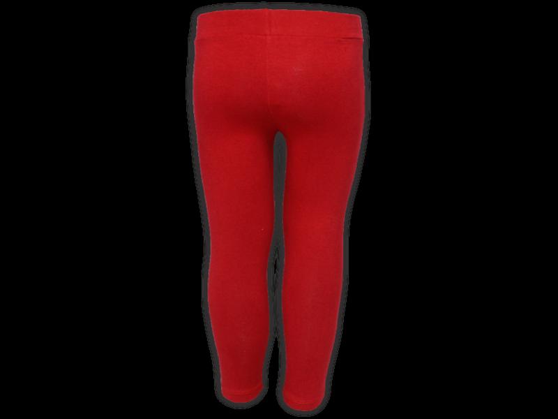 Calça legging vermelha - trás