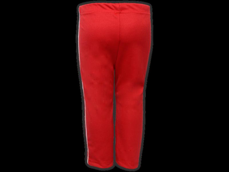 Calça Helanca vermelha trás