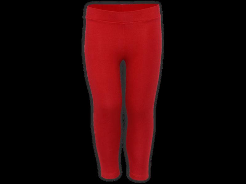Calça legging vermelha - frente