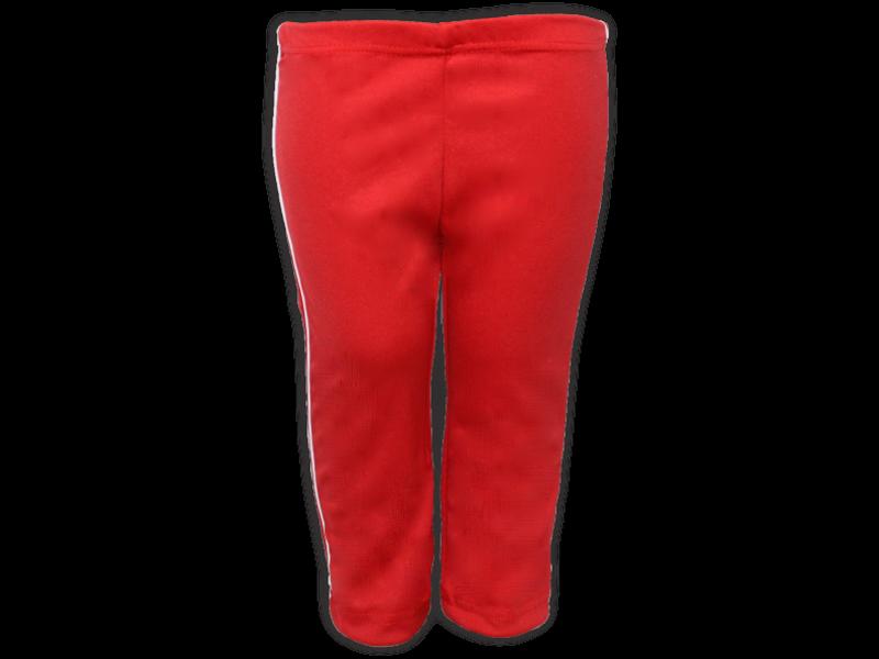 Calça Helanca vermelha frente