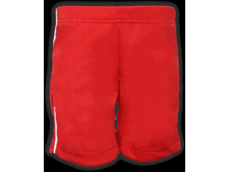 Bermuda Helanca vermelha frente
