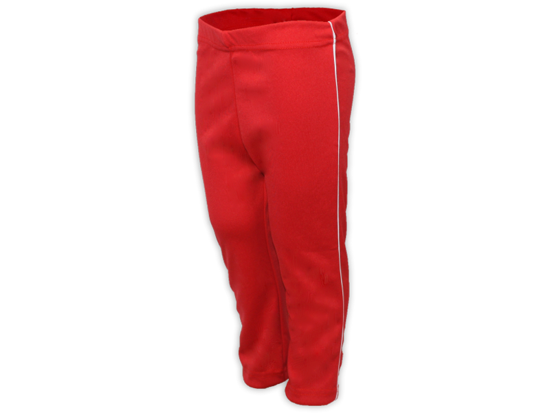 Calça Helanca vermelha perfil