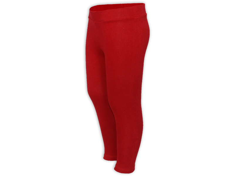 Calça legging vermelha - perfil