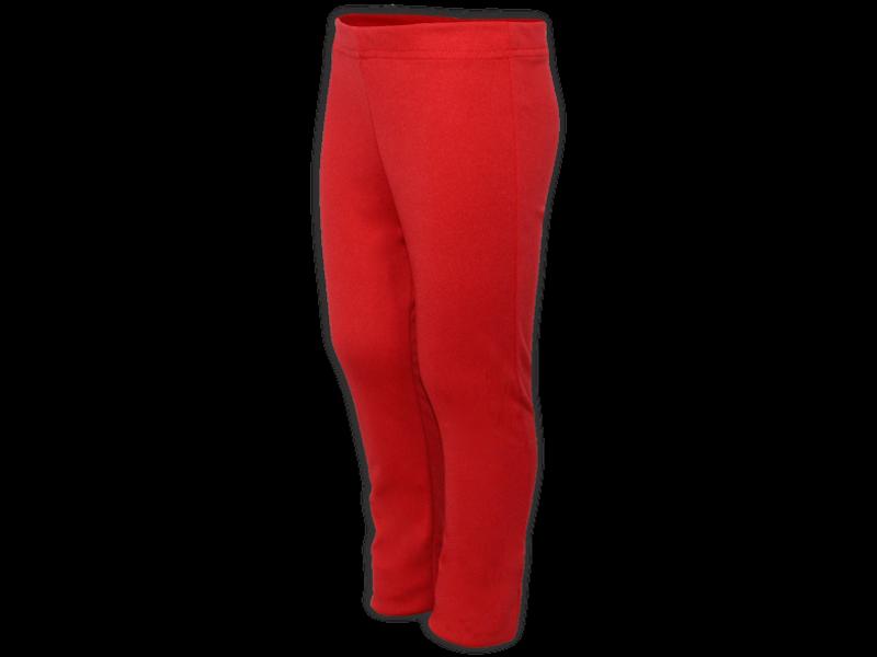 Calça bailarina vermelha - perfil