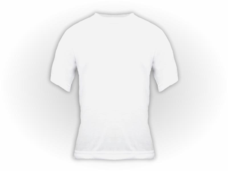 Camiseta manga curta branca frente