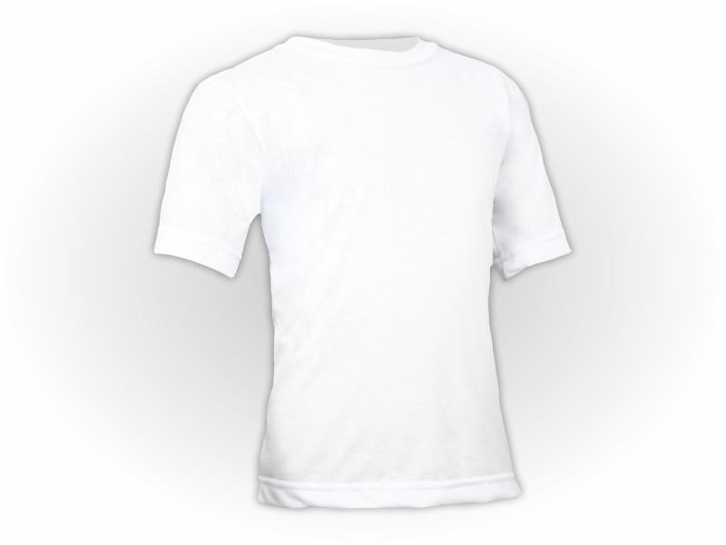 Camiseta Lisa Manga Curta Juvenil Poliéster