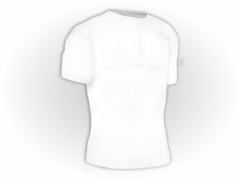 Camiseta Lisa Algodão Manga Curta Adulto