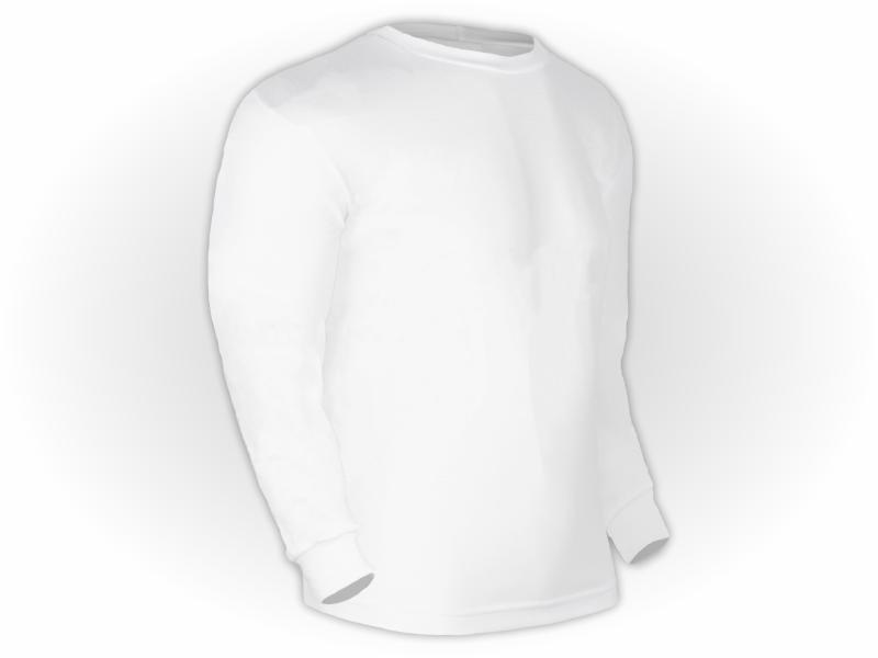 Camiseta Lisa Manga Longa Adulto Poliéster