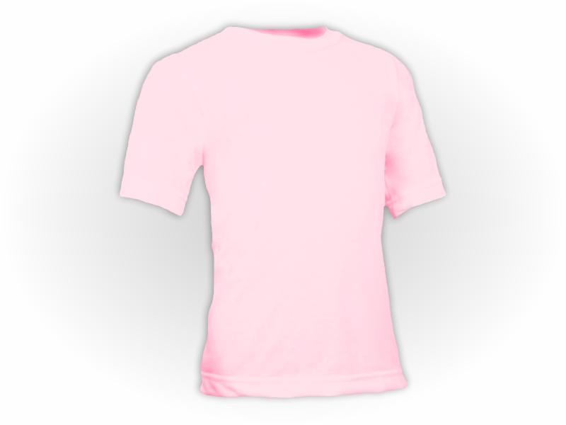 Camiseta rosa bebe perfil