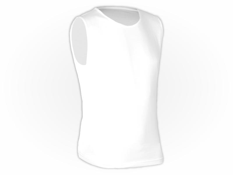 Camiseta Lisa Regata adulto 100% Poliéster