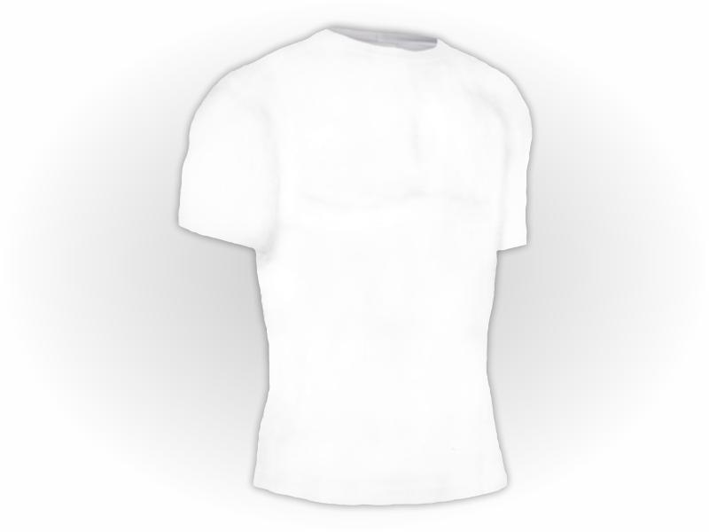 Camiseta Lisa Manga Curta Adulto Poliéster
